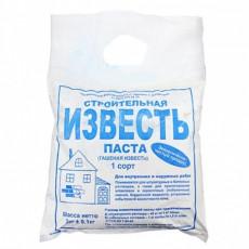 Вапно паста будівельна вищий сорт (3 кг) (п-150шт)
