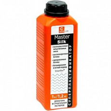 Coral MasterSilk пластификатор для бетона 1л(уп-20шт)
