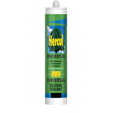 Герметик HERCUL покрівельний чорний (280 мл)(уп-24шт)