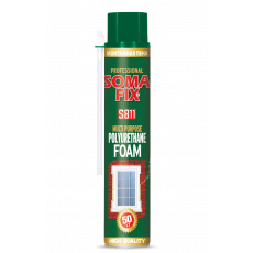 Піна монтажна SOMA FIX S811 ручна всесезон (750мл)(12-уп шт,)