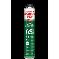 Піна монтажна SOMA FIX S957 ПРОФ MEGA 65 Plus (850 мл)(12шт. уп)