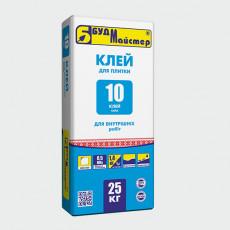 КЛЕЙ-10/СИЛА клей для плитки (25 кг)(48 шт.п)