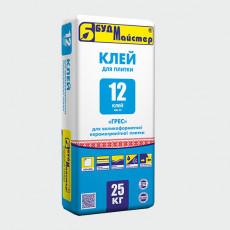 КЛЕЙ-12/КН-12 клей для плитки (25 кг)