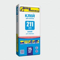 КЛЕЙ-211/MARBLE-W клейова суміш для мармуру (25кг) (п-48шт)