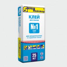 КЛЕЙ-1/КВ №1 клей для плитки (25 кг)(48 шт.п)