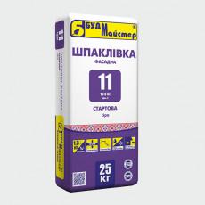 ТИНК-11/Шп-2 Шпаклівка цем. сіра старт. (25 кг) (п-48шт)