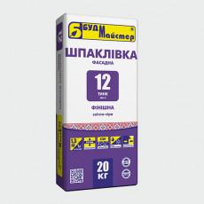 ТИНК-12/Шп-3 Шпаклівка цем. сіра фініш. (20 кг)