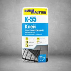 КЛЕЙ-55/ клейова суміш цементна універсальна високої адгезії (25 кг)