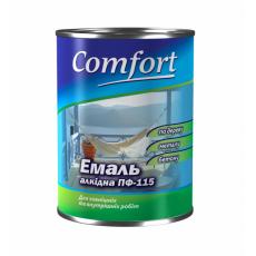 """Емаль  """"СOMFORT"""" ПФ-115 блакитна (0,9кг)"""