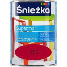 Супермалий акрилова ШГА415 червона (0,8л) (уп-8 шт.)