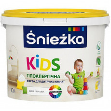 Снєжка  KIDS фарба для дитячих кімнат 13,5кг