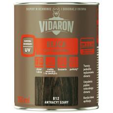 Vidaron  Бейц для дерева В12 сірий антрацит  (0,75л)