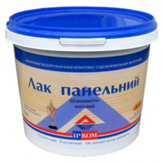 Лак ПАНЕЛЬНИЙ IP-11 шовковисто-матовий  (5 л)