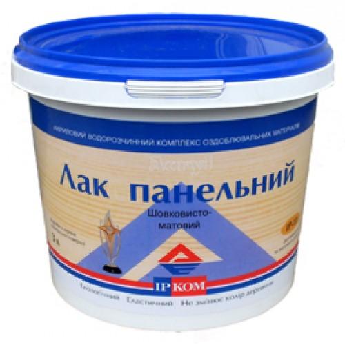 Лак ПАНЕЛЬНИЙ IP-11 шовковисто-матовий (3л)