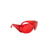2525 Окуляри відкриті захисні з червоними лінзами/LASER SPEC