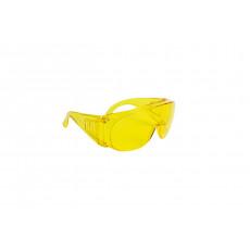 2521 Окуляри відкриті захисні з жовтими лінзами/OVER SPEC