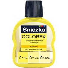 12 Колорекс № 12 желтый сол. (0,1 л) (уп-20шт) (п-2880шт)