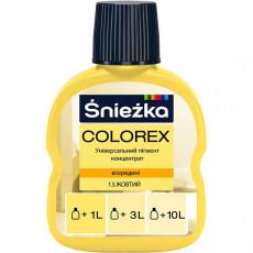 13 Колорекс № 13 жовтий (0,1 л) (уп-20шт) (п-2880шт)