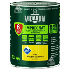 Vidaron Імпрегнат V02 золота сосна (0.7л)(уп-8шт) (п-768шт)