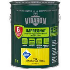 Vidaron Імпрегнат V02 золота сосна (9л) (уп-1шт) (п-56шт)