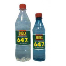 Розчинник  647 БП BUDEX 4л  (уп-4шт)
