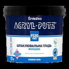 Акрил-Путц шпаклівка FS20 (1,5 кг) (уп-6 шт.)(п-432шт.)