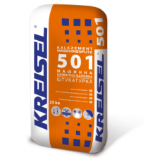 501 Штукатурка известково-цементная машинная KALKZEMENT MASCHINENPUTZ 25кг(п-42шт)